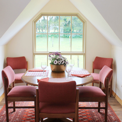 Dining Area of The Carriage House self catering accommodation Kerikeri