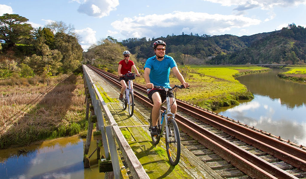 Cycle the Twin Coast Cycle Trail