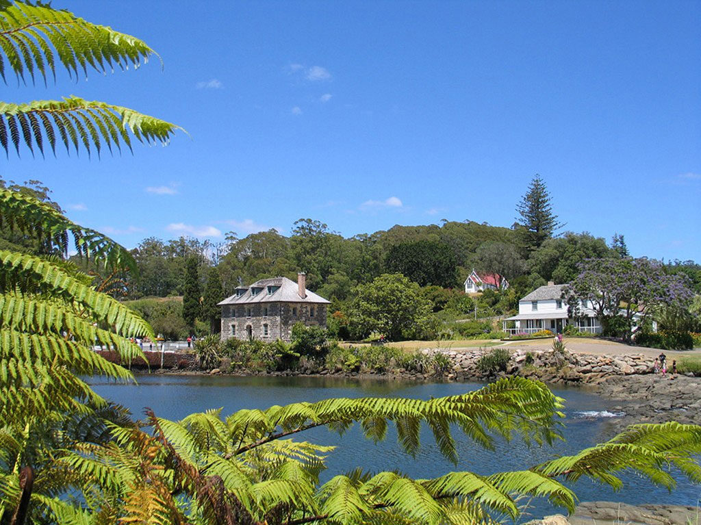 Stone Store and Kemp House Mission Station Kerikeri Bay of Islands